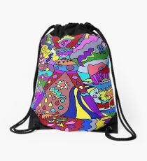 Abstract 12 Drawstring Bag