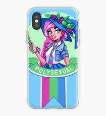 I was sorted into the Polysexual House iPhone Case