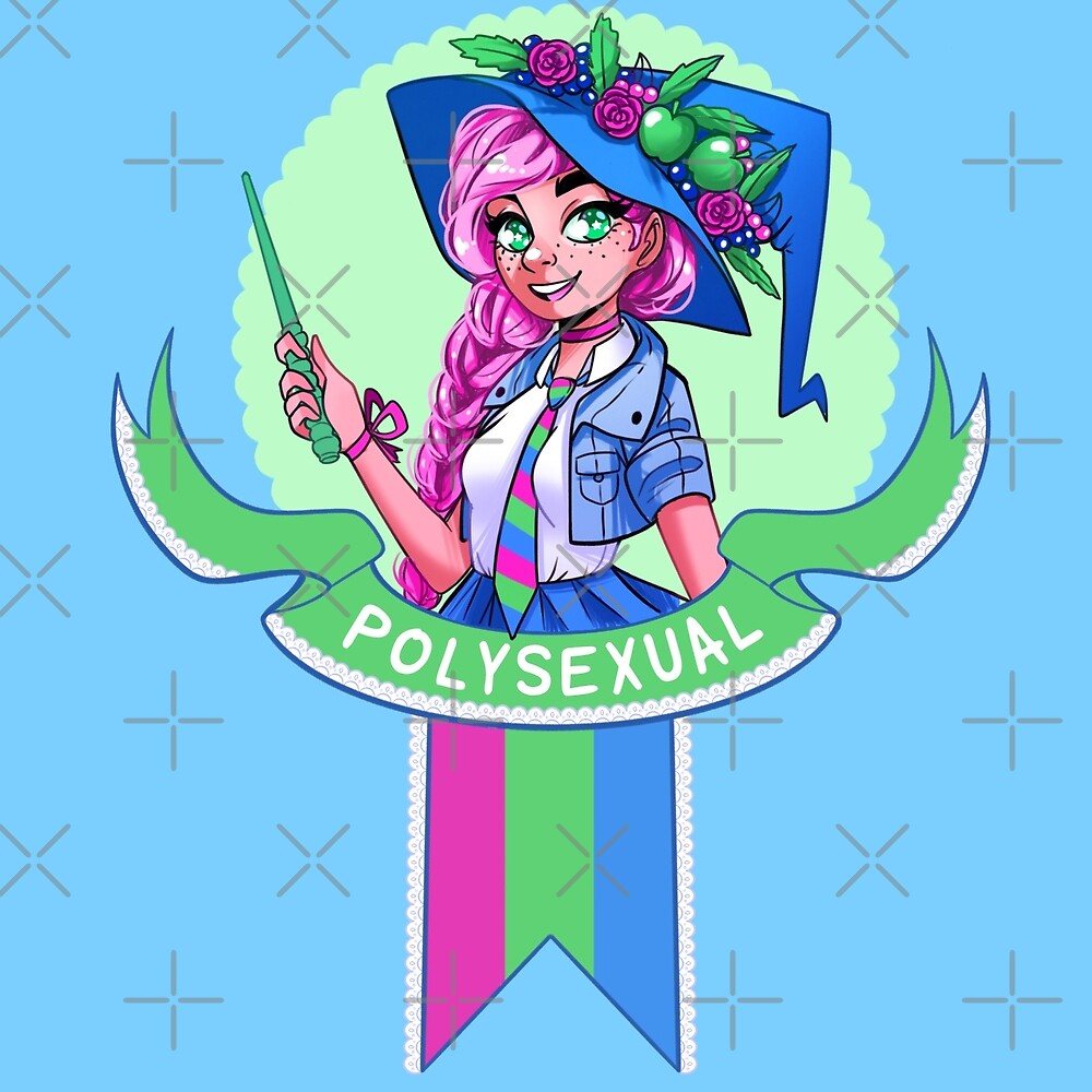 I was sorted into the Polysexual House by evocaitart