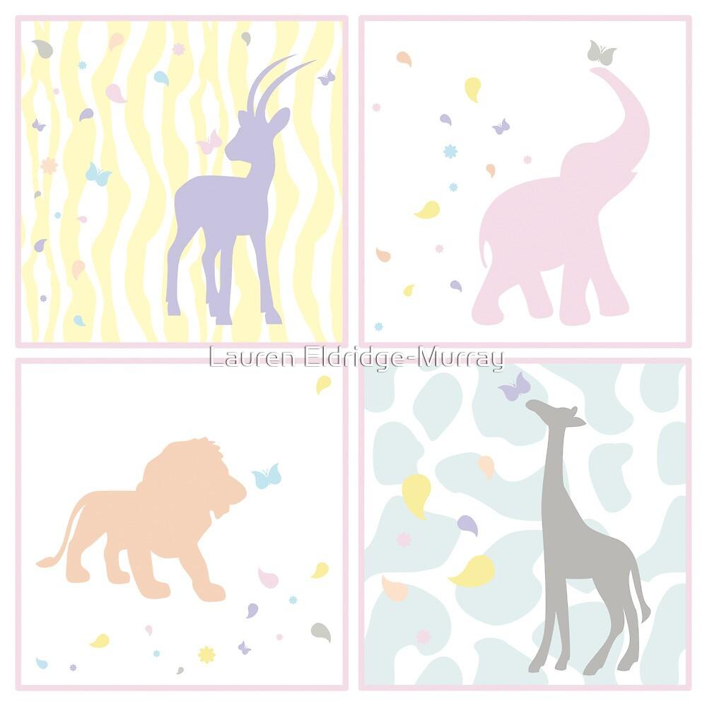 Animals for Baby Girl by Lauren Eldridge-Murray