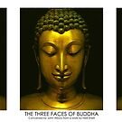 Buddhistic  triptych - The three faces of Buddha by neonunchaku