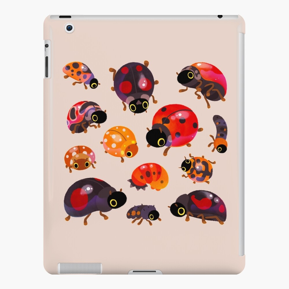 Lady beetles iPad Case & Skin