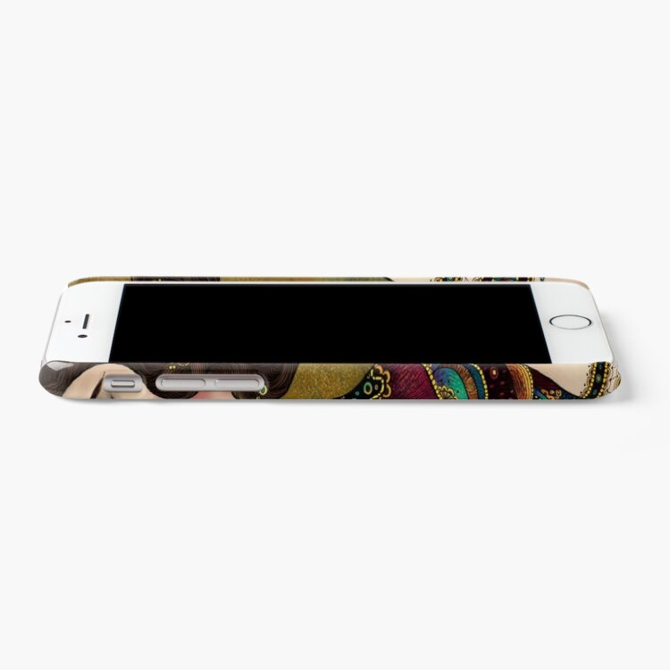 Alternate view of Klimt Muses 5 iPhone Case & Cover