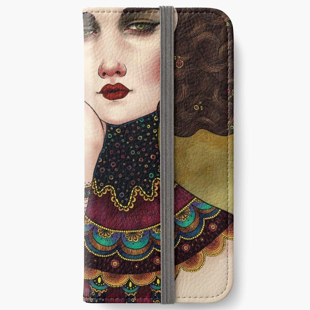 Klimt Muses 5 iPhone Wallet