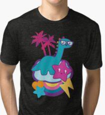 Rainbowsaurus  Tri-blend T-Shirt