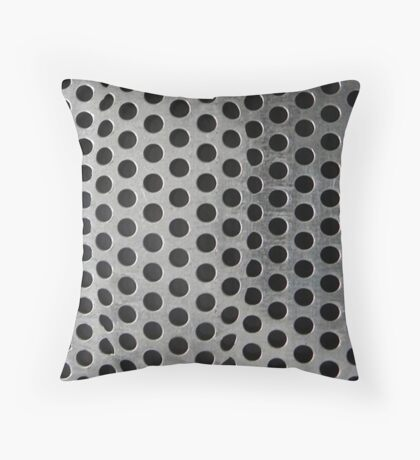 pushing out Throw Pillow