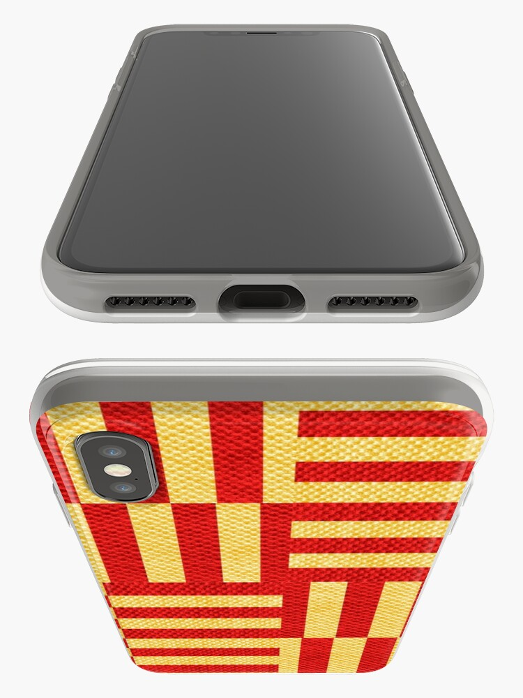 Alternate view of stripes pattern iPhone Case & Cover