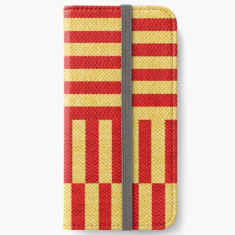 stripes pattern iPhone Wallet
