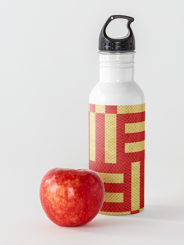 Alternate view of stripes pattern Water Bottle