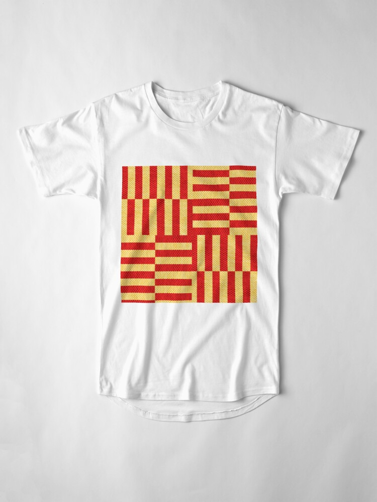 Alternate view of stripes pattern Long T-Shirt