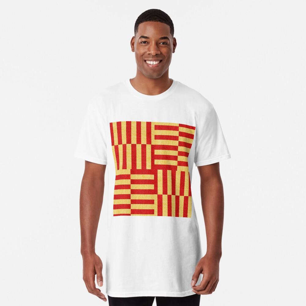 stripes pattern Long T-Shirt