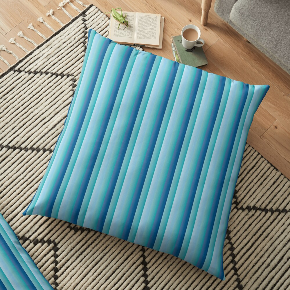 stripes pattern Floor Pillow