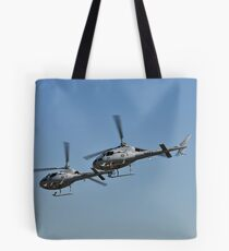 Smokin Duelling 'Copters Tote Bag