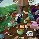 Alice in wonderland by MonsterAtePilot