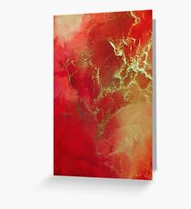 cosmic thunderstorm Greeting Card