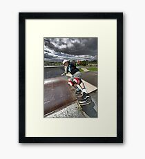 Rock to Fakie Framed Print