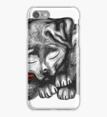 Sleeping Lab iPhone Case/Skin