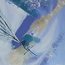 Abstract seascape No: 2 by Susan MacFarlane