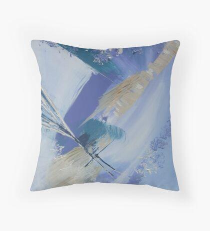 Abstract seascape No: 2 Throw Pillow
