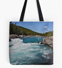 Wonderful Norway . Otta River . Oppland . Brown Sugar Story. Tote Bag