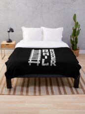 Railroad T-shirt & Gift Occupations Throw Blanket