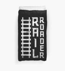 Railroad T-shirt & Gift Occupations Duvet Cover