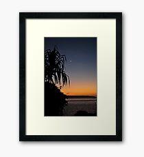Smiths Point Sunset Framed Print