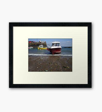 Rozel harbour Framed Print