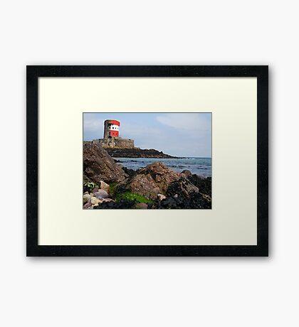 Jersey Tower Framed Print