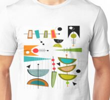 Mid-century Modern Abstract #55 Unisex T-Shirt
