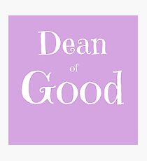 Dean of Good Photographic Print