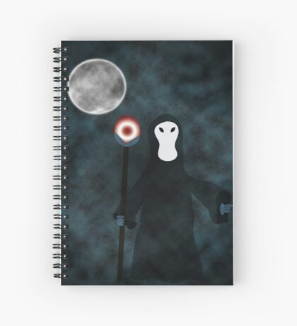 Night Grim Reaper Spiral Notebook