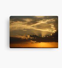 Brilliant Sky over ABQ Canvas Print