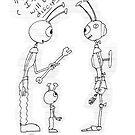 Alien Robot Discipline by Robert Phillips
