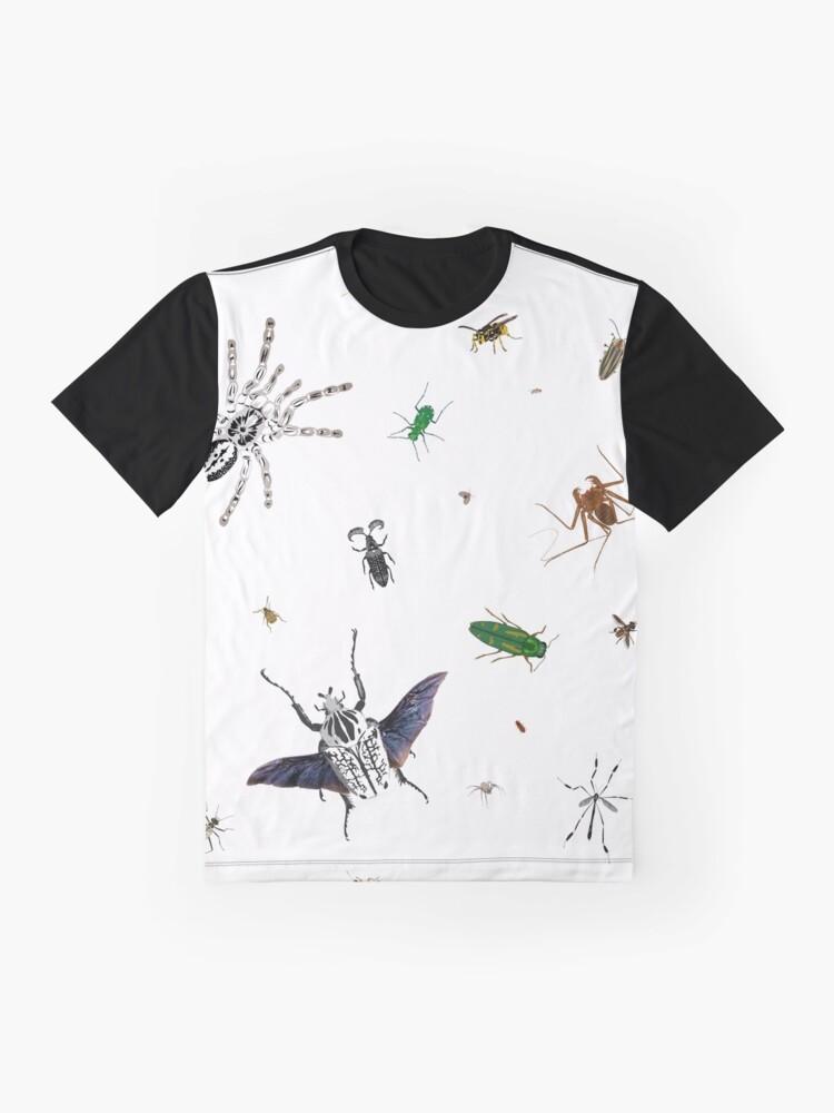Alternate view of Entomologist's Dream Graphic T-Shirt
