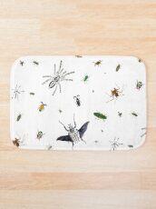 Entomologist's Dream Bath Mat