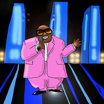 Cee-Lo Pink by KevMoore