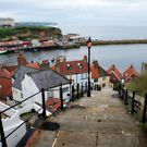 Whitby Steps by StephenRB