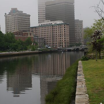 Foggy morning in Providence by bcdoherty