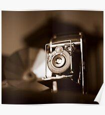 Authentic camera - Anastigmat Prima Poster