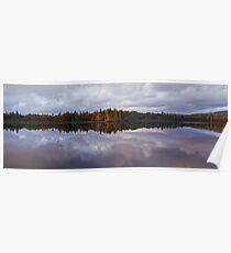 Nova Scotia Sunrise over Lake Poster