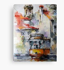 my old lisbon.. Canvas Print
