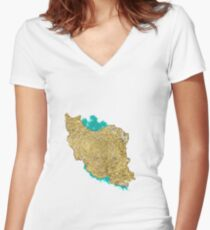 My Iran Fitted V-Neck T-Shirt
