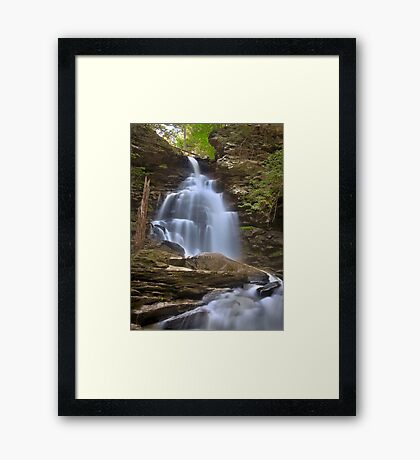 Where Waters Flow Framed Print