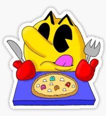 Pac Pizza Sticker
