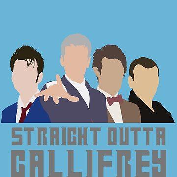 Straight Outta Gallifrey by RowanArthur93