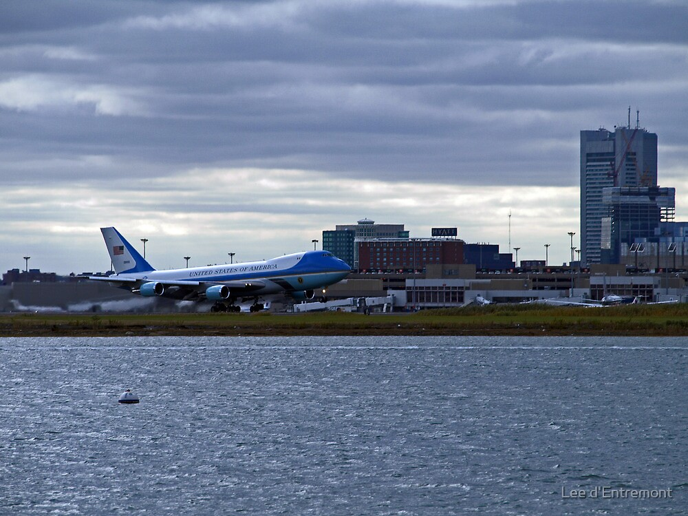 Air Force 1 by Lee d'Entremont