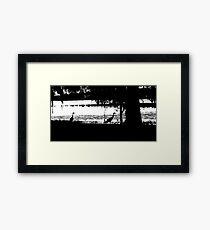 shy_hills Framed Print