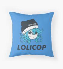 Supreme Lolicop (Aqua / Blue) Floor Pillow