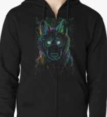galaxy eater Zipped Hoodie